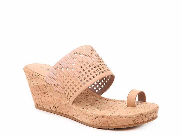 Donald Pliner Gyer Wedge Sandal Women S Shoes Dsw