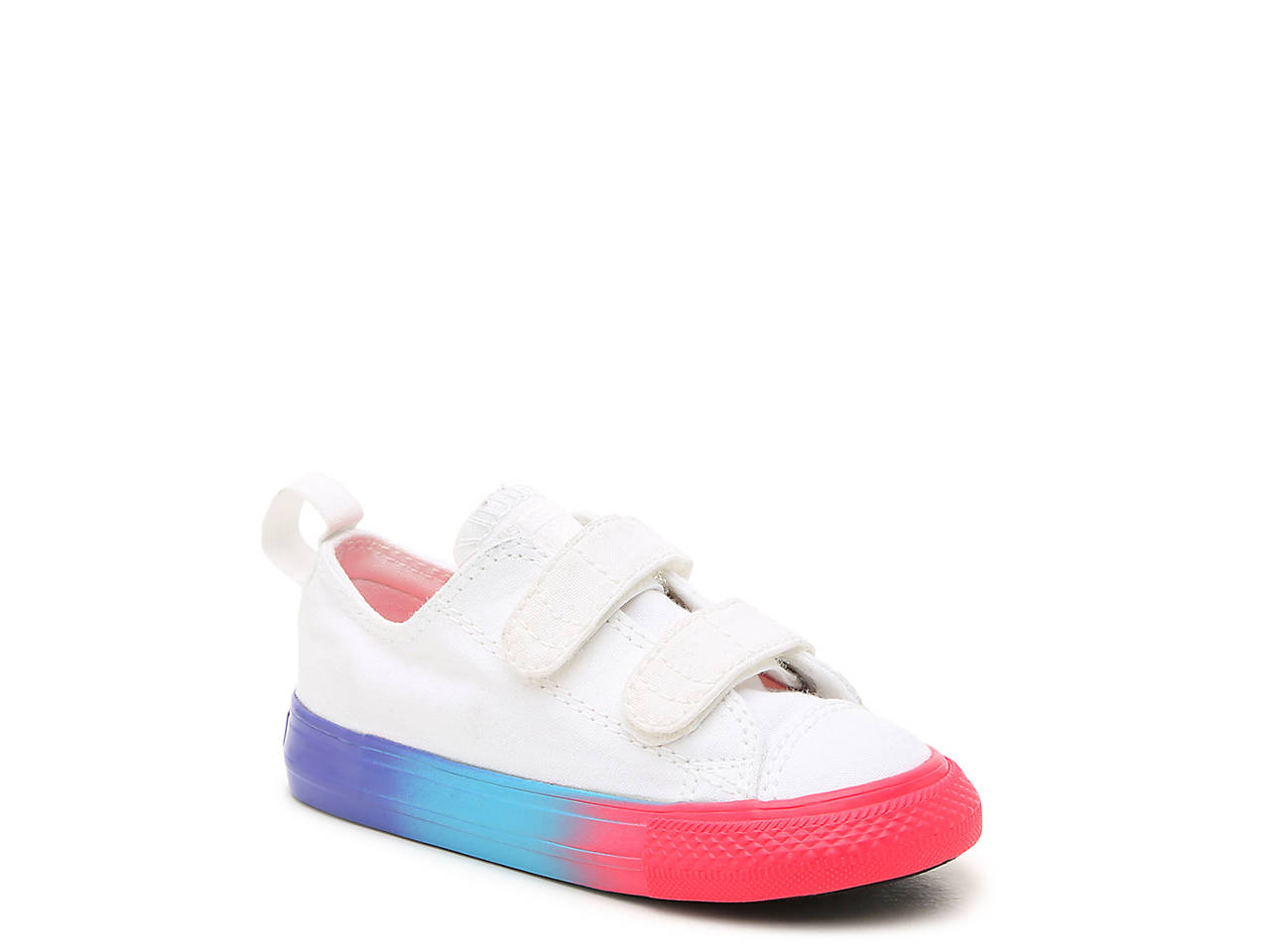 fb3f1094c2f898 Converse Chuck Taylor All Star Rainbow Ice Infant   Toddler Sneaker ...