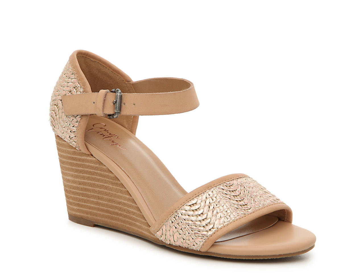 bb765129148 Crown Vintage Courtney Wedge Sandal Women s Shoes