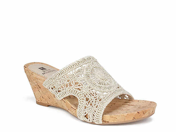 07e8e54ecab White Mountain Adira Wedge Sandal Women s Shoes