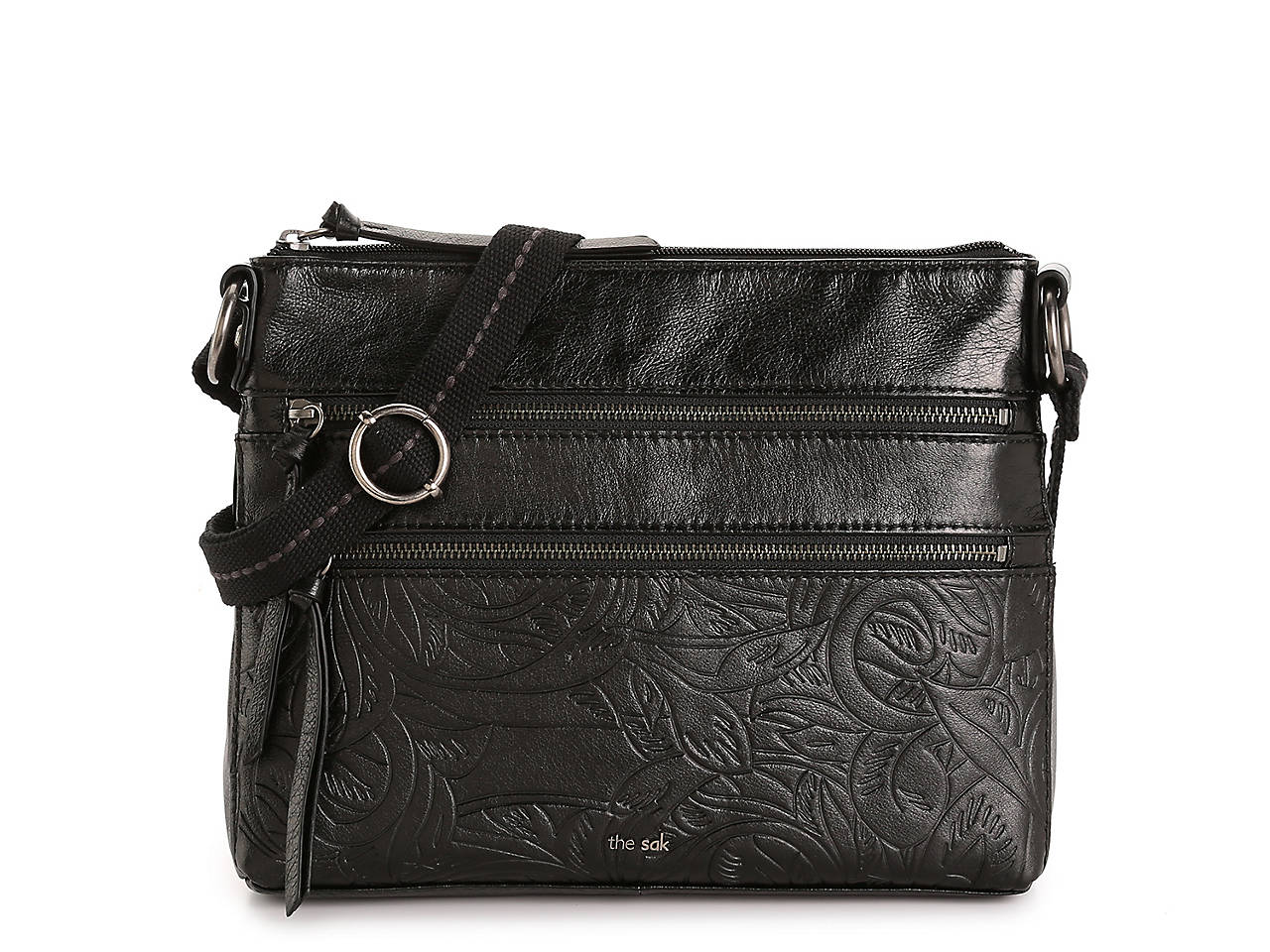 Reseda Leather Crossbody Bag