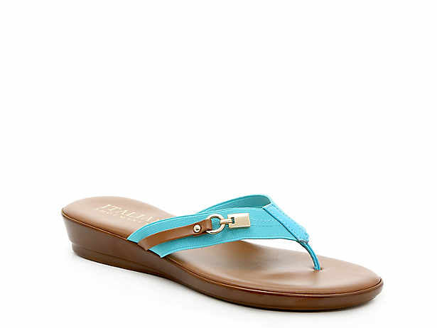2f06ff923 Italian Shoemakers. Vale Wedge Sandal