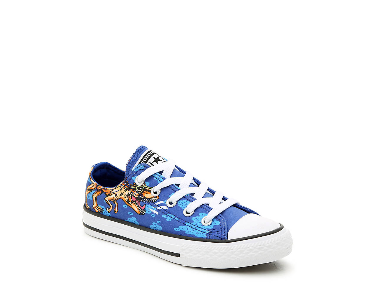 5e1e0b204464 Converse Chuck Taylor All Star Dino Party Toddler   Youth Sneaker ...