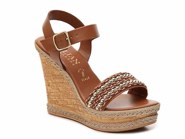 b9934d5ac036 Italian Shoemakers. Taya Wedge Sandal