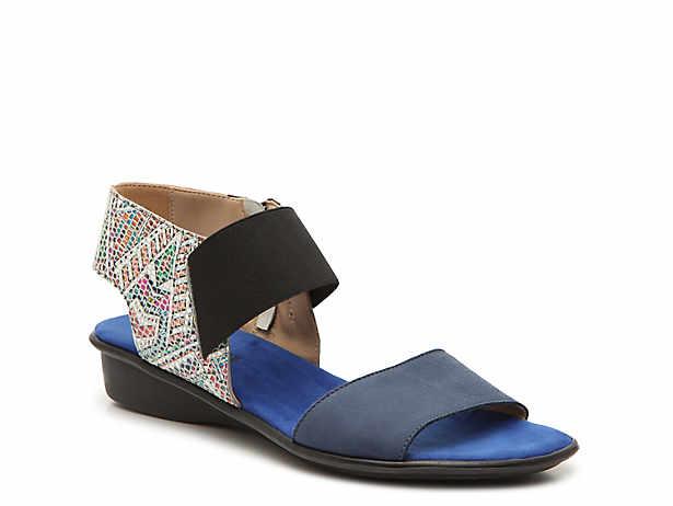 f3b8861bb8e Sesto Meucci - Luxury Eirlys Wedge Sandal Women's Shoes | DSW