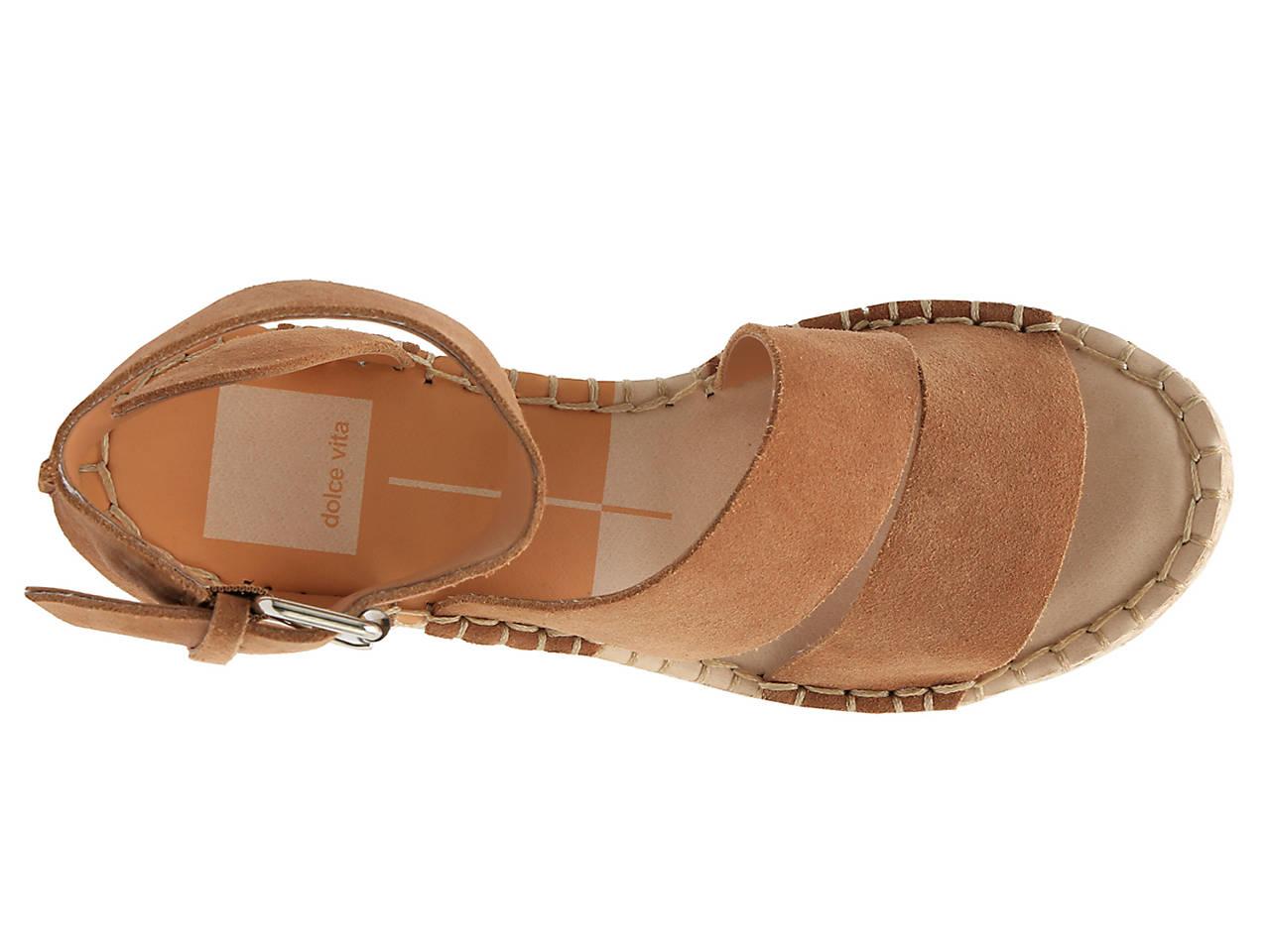 7b7aa7e3330 Dolce Vita Shayla Espadrille Wedge Sandal Women s Shoes