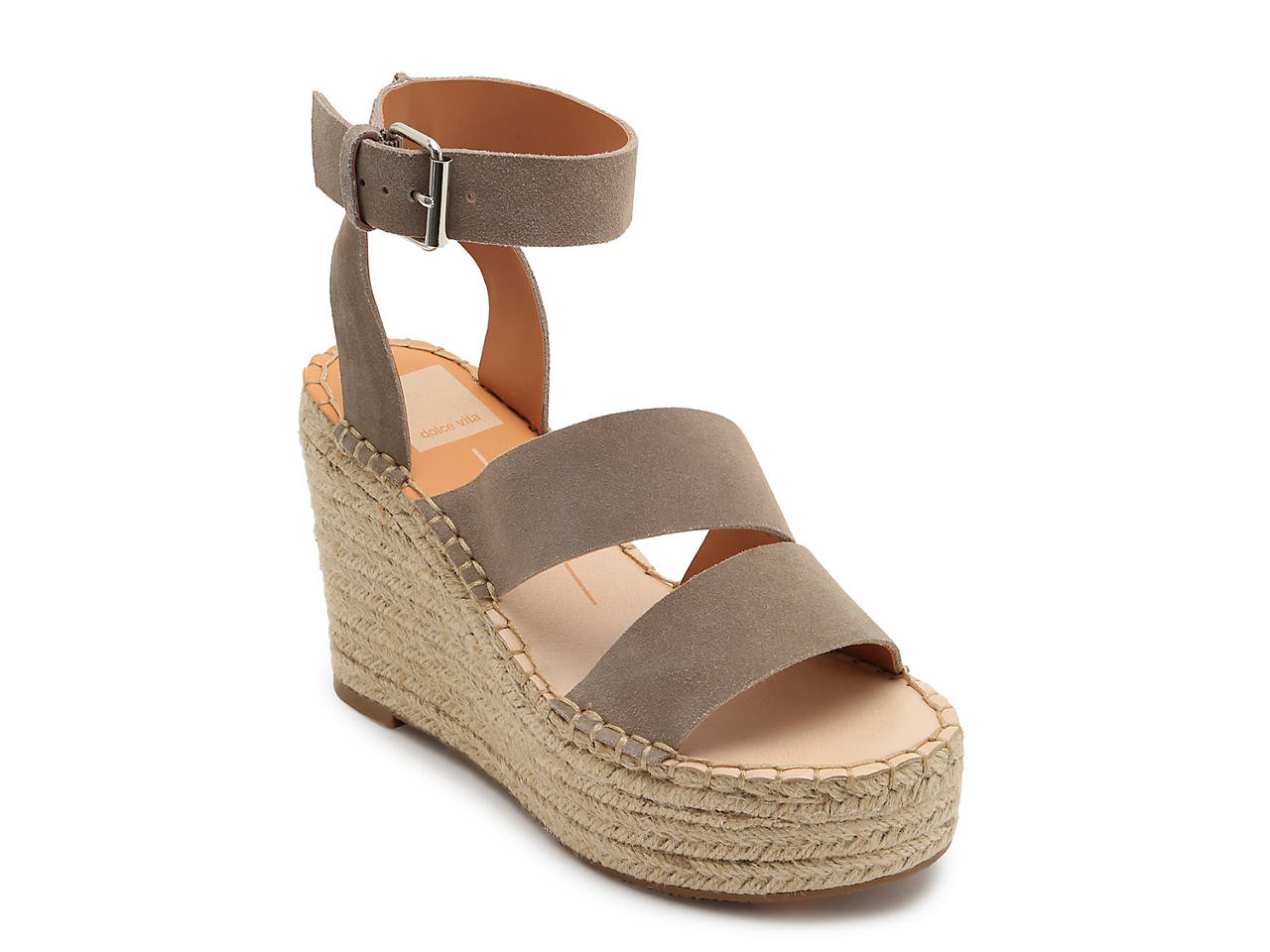 87550a54935 Dolce Vita Shayla Espadrille Wedge Sandal Women s Shoes