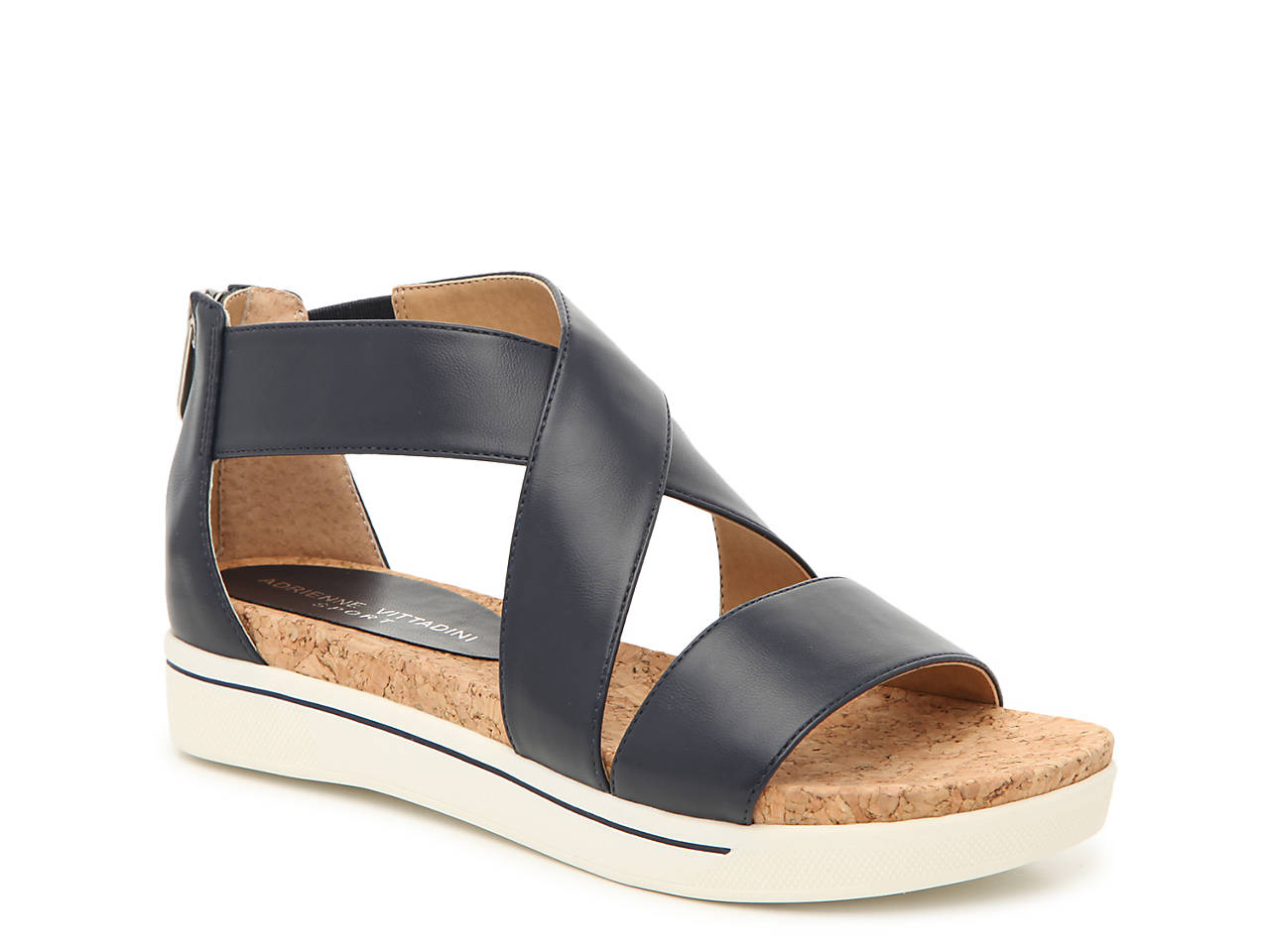 d6a7be9ab4bb Adrienne Vittadini Cheers Wedge Sandal Women s Shoes