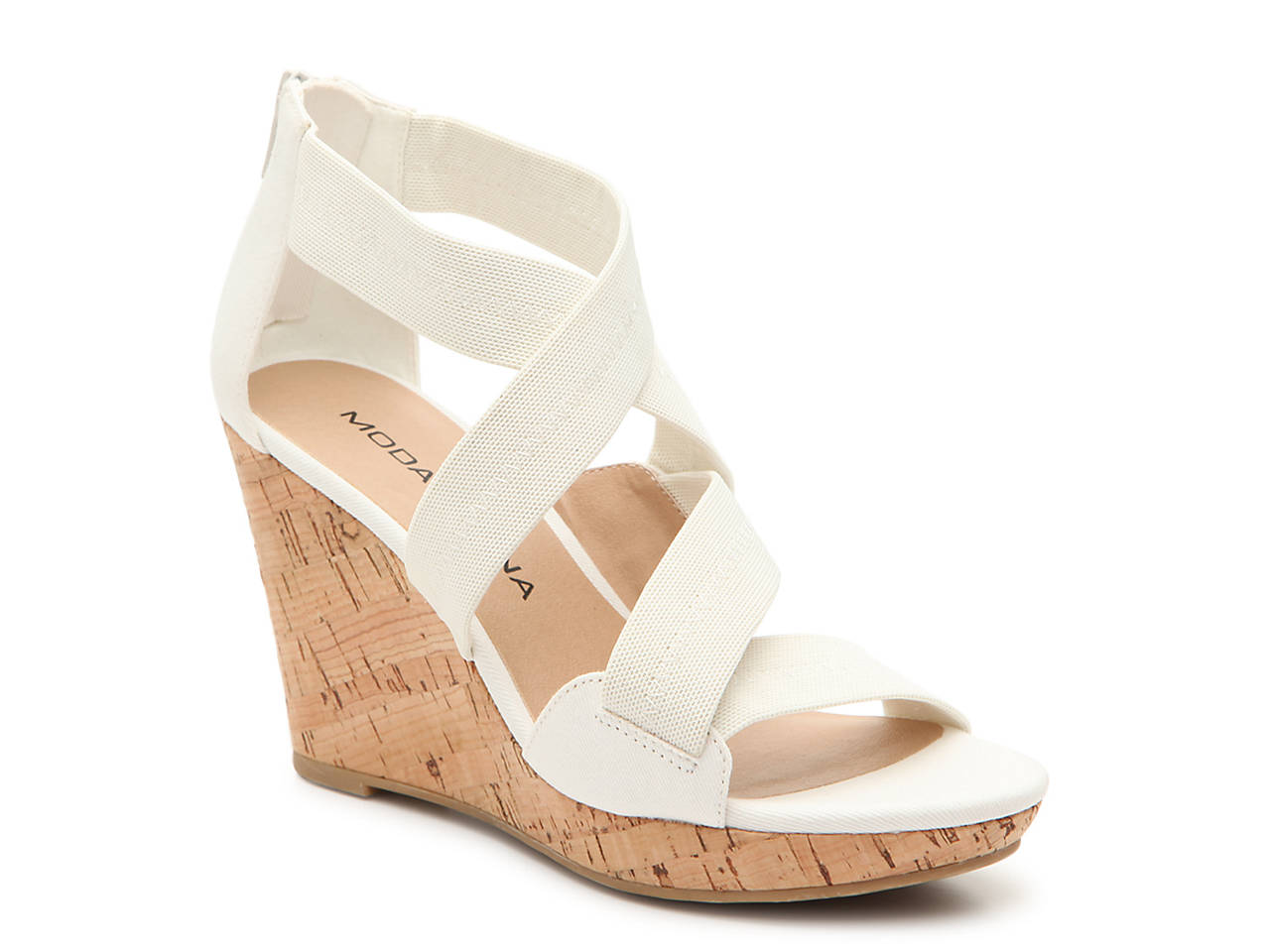 2051c0c695fb Moda Spana Flute Wedge Sandal Women s Shoes