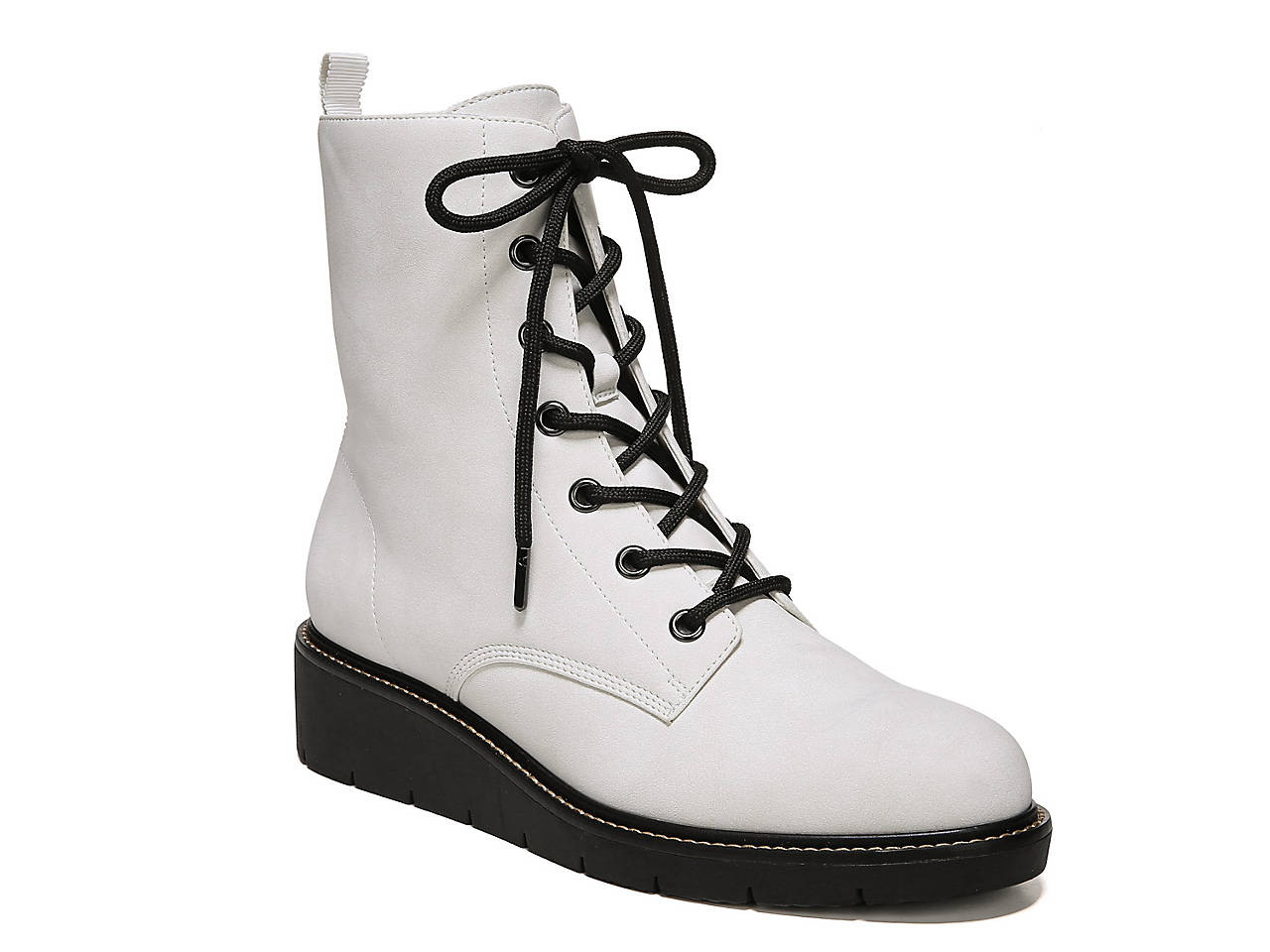 781bb0e53693 Dr. Scholl s Straightup Wedge Combat Boot Women s Shoes