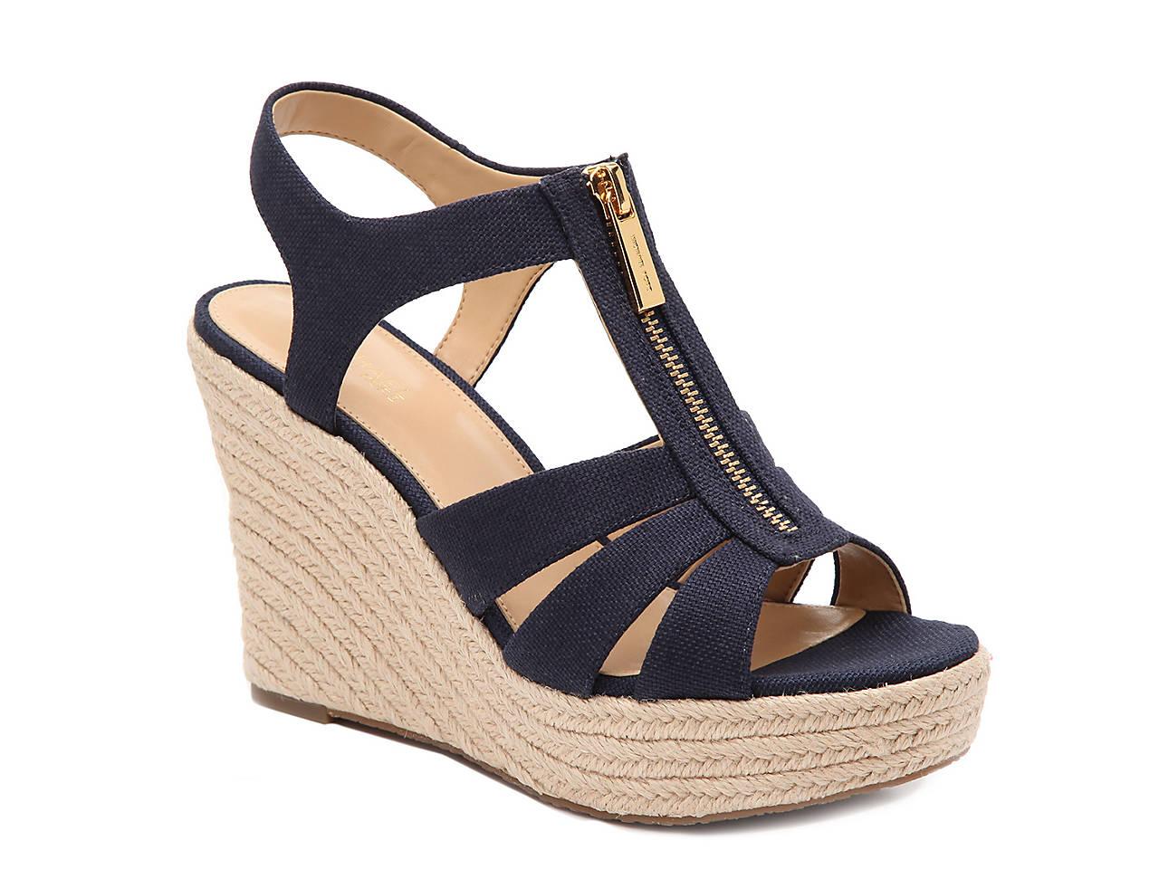 5f107d3e72dc Michael Michael Kors Berkley Espadrille Wedge Sandal Women s Shoes