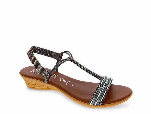 5fd11b78e031 Italian Shoemakers. Fox Wedge Sandal
