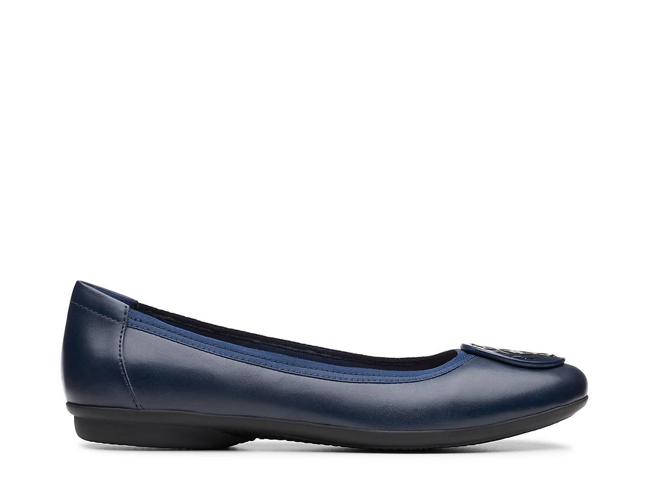 ea7be265602 Clarks Gracelin Lola Ballet Flat Women s Shoes