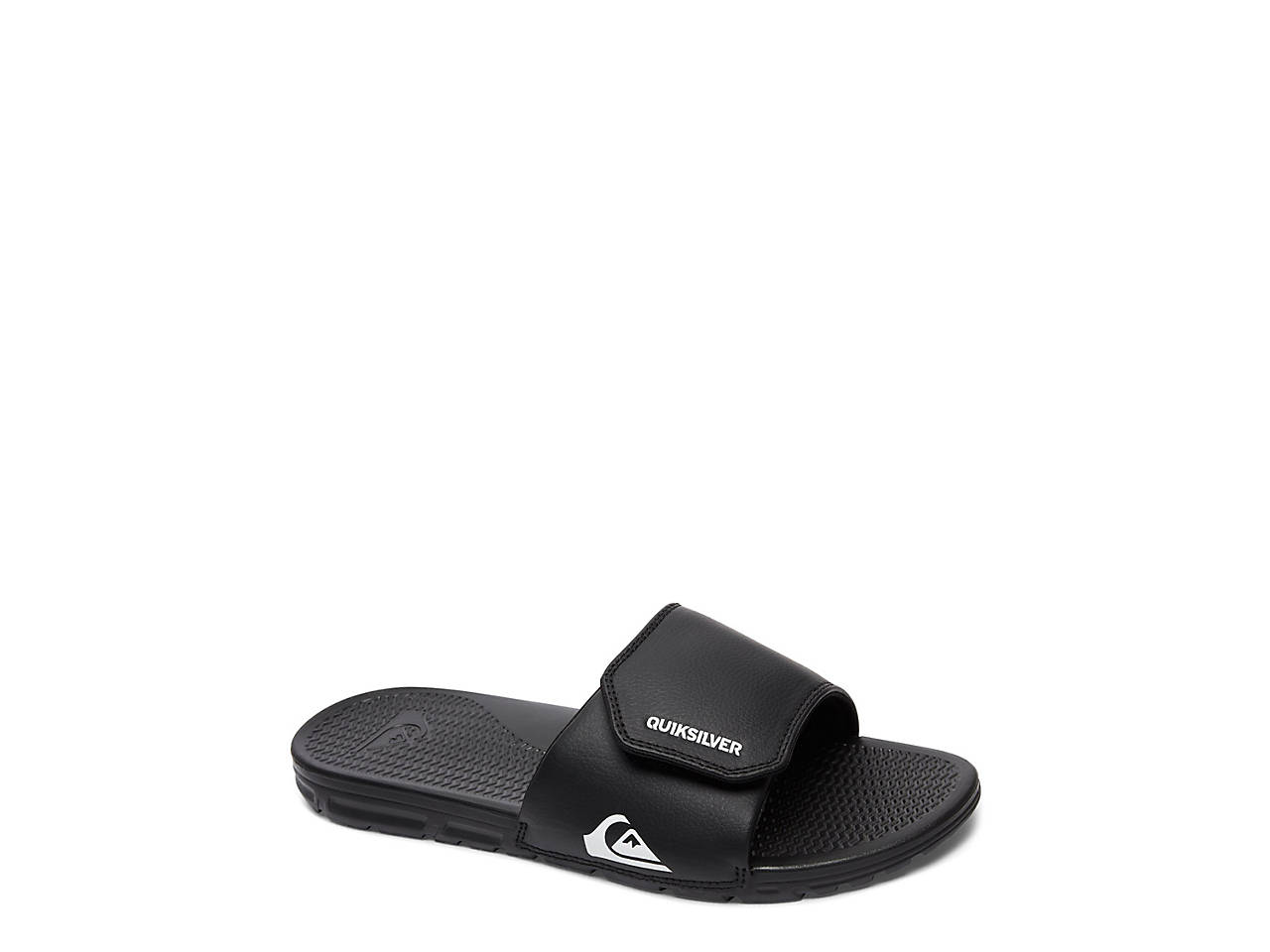 0fbc061a8fc Quiksilver Shoreline Adjust Toddler   Youth Slide Sandal Kids Shoes ...
