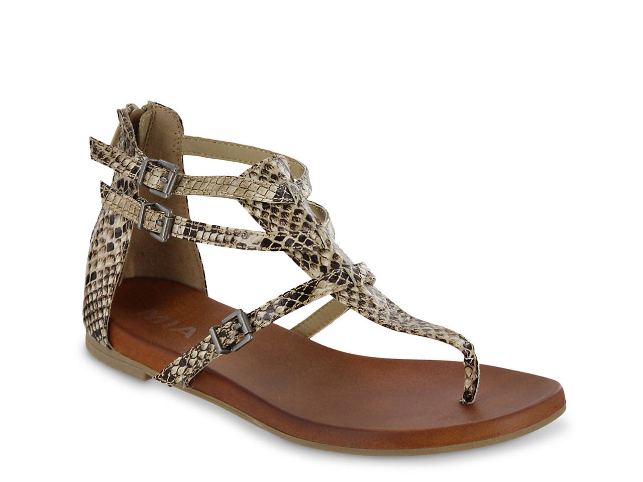 71738df9c70 Mia Dashielle Gladiator Sandal Women s Shoes