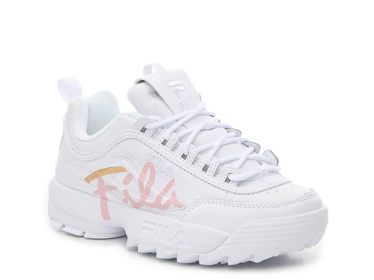21ac0a6afc5 Fila Disruptor II Script Sneaker - Women s Women s Shoes
