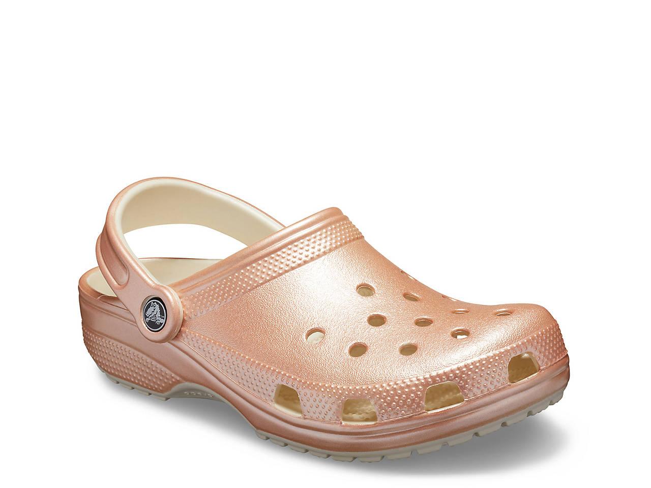 8ceccb8fe67 Crocs Classic Metallic Clog Women s Shoes