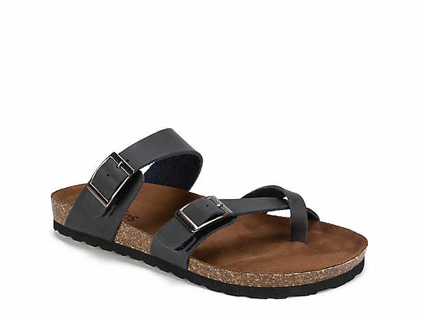 1ec47a7b3104 White Mountain Crawford Flat Sandal Women s Shoes