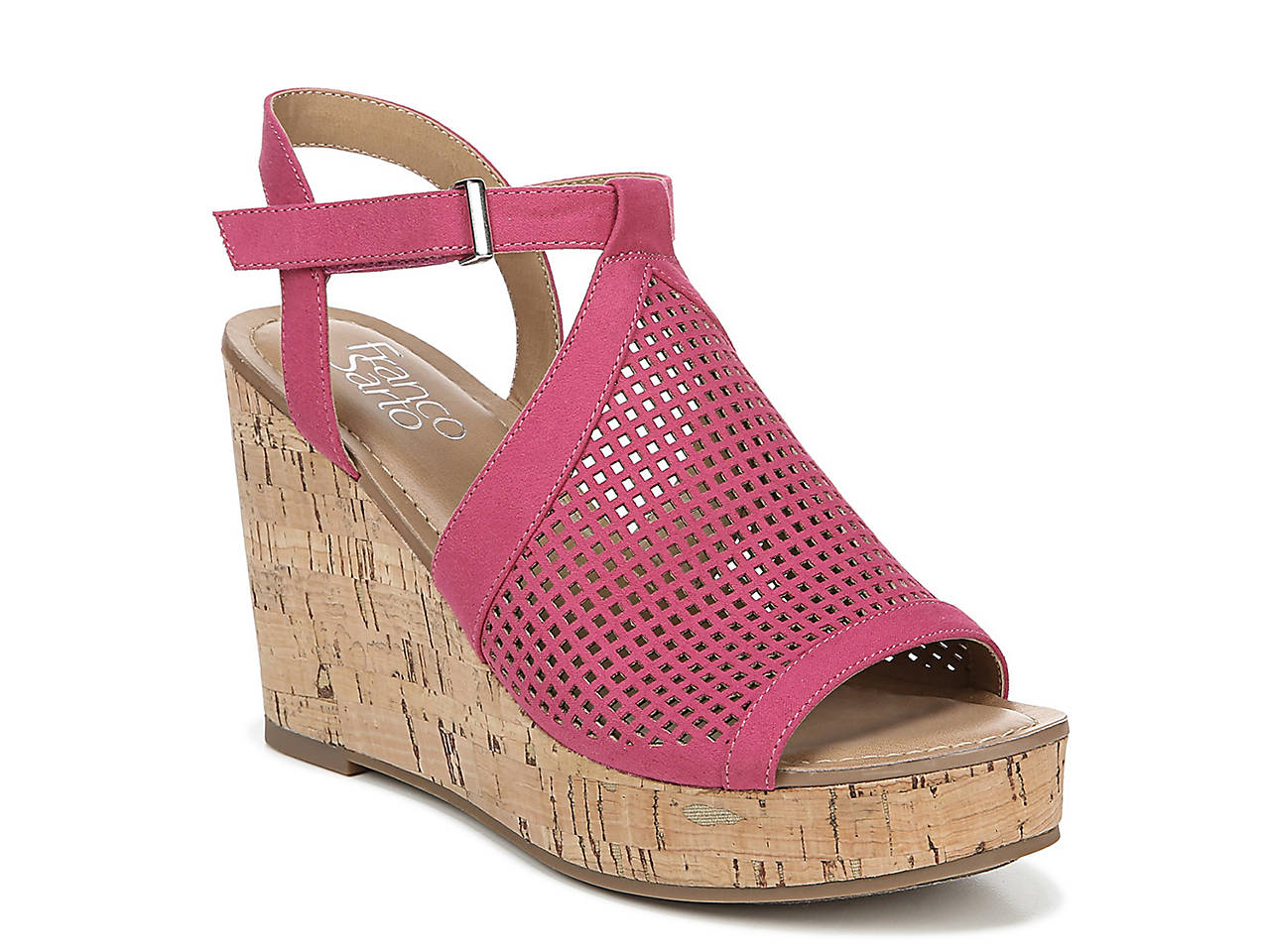 66ef04544225 Franco Sarto Canyon Wedge Sandal Women's Shoes | DSW