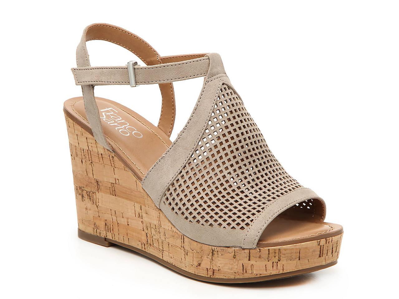 6e2028ceab Franco Sarto Canyon Wedge Sandal Women s Shoes