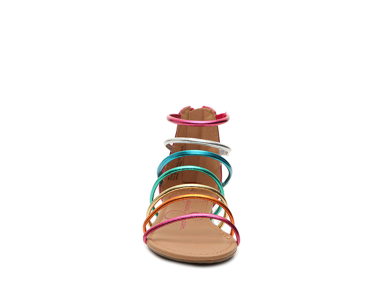 d16112b9006 Jessica Simpson Comet Toddler   Youth Gladiator Sandal Kids Shoes