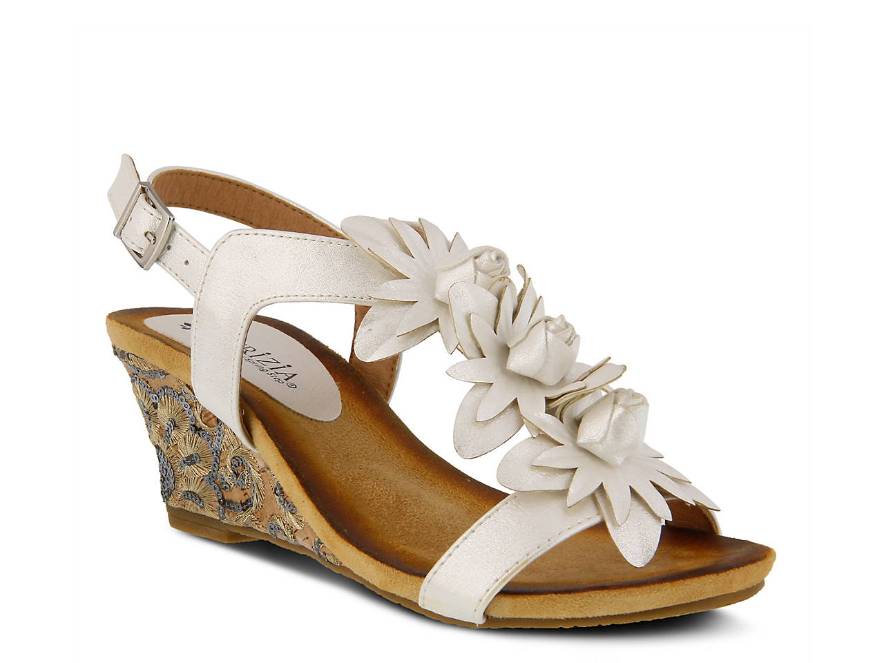 faae508d05d5 Patrizia by Spring Step Cutiquin Wedge Sandal Women s Shoes