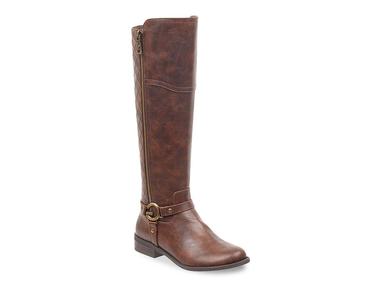 55e904e59 G by GUESS Horton Riding Boot Women's Shoes | DSW