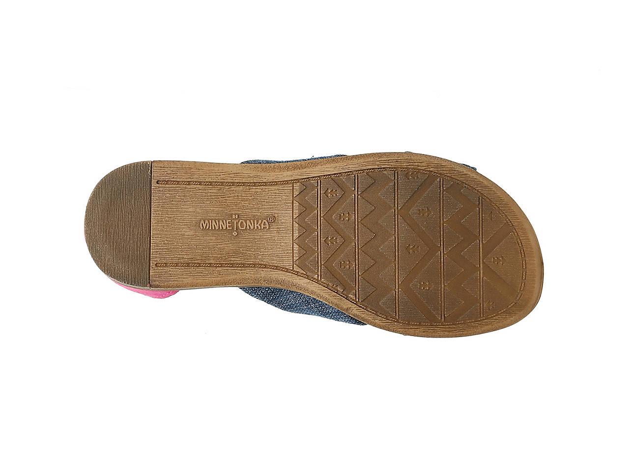 3f8859dce94 Minnetonka Etta Toddler   Youth Sandal Kids Shoes