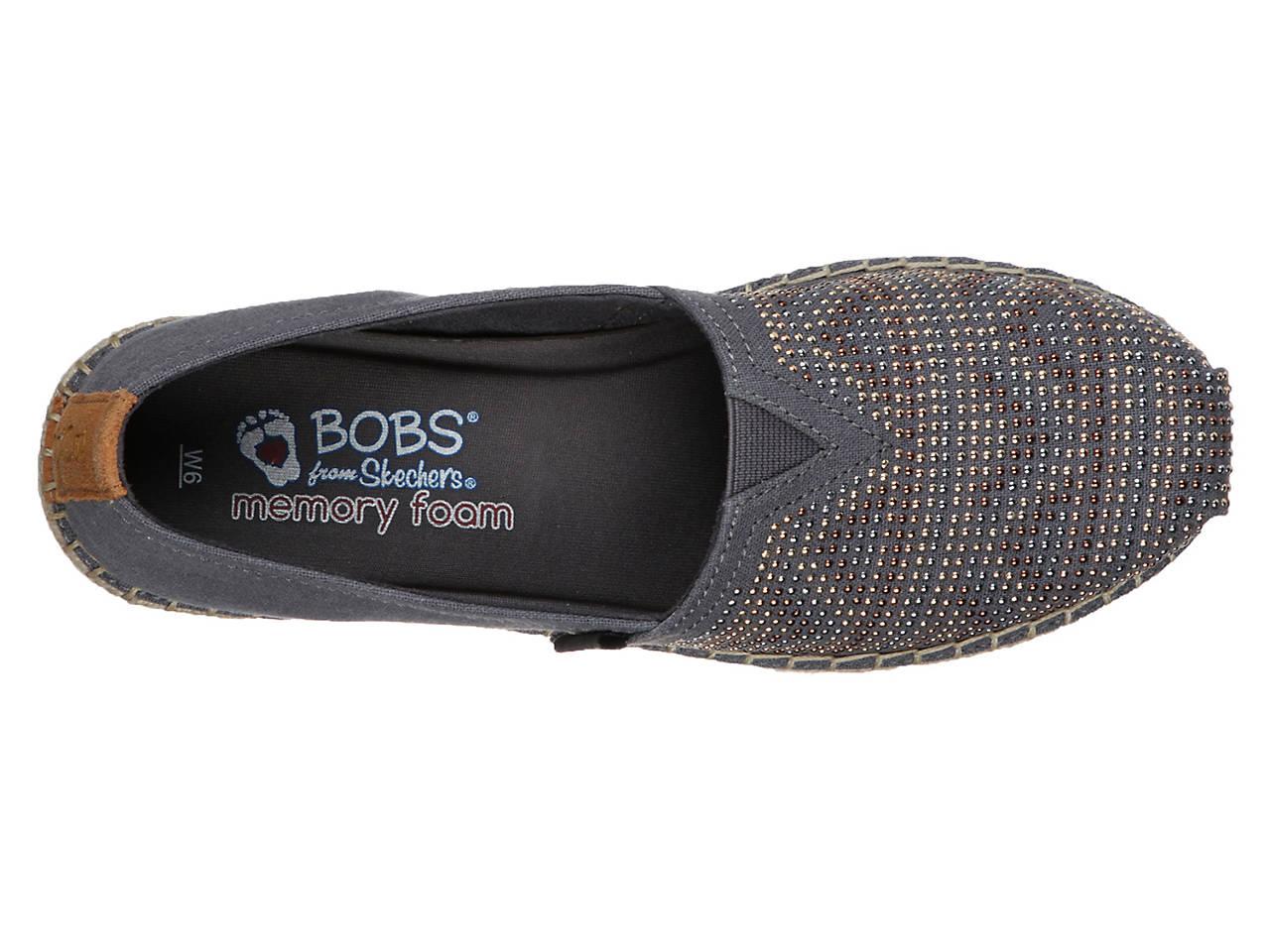 395e24b9fc99f Skechers BOBS Breeze Moonbeams & Stars Espadrille Slip-On Women's ...