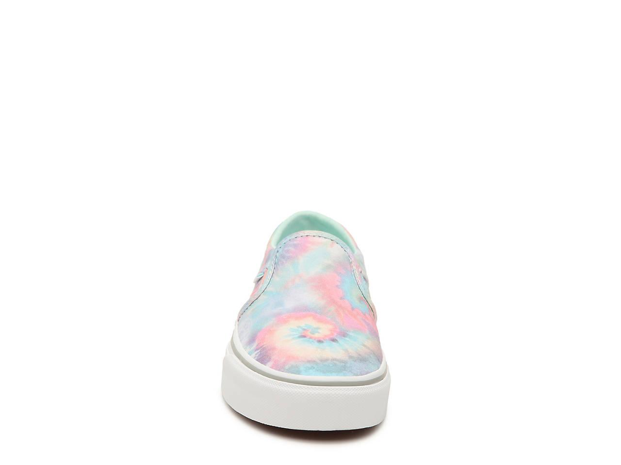 Vans Asher Tie Dye Slip On Sneaker Women's Women's Shoes DSW  DSW