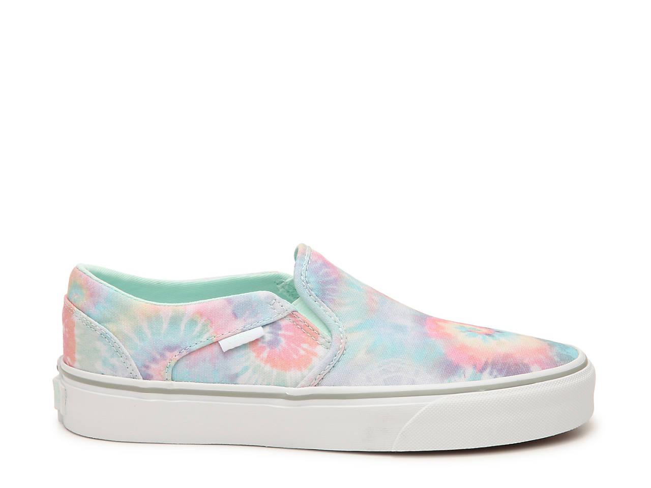 Asher Tie Dye Slip On Sneaker Women's
