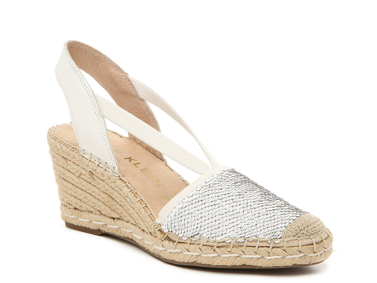 2d96d745109 Anne Klein Abbey Espadrille Wedge Sandal Women s Shoes