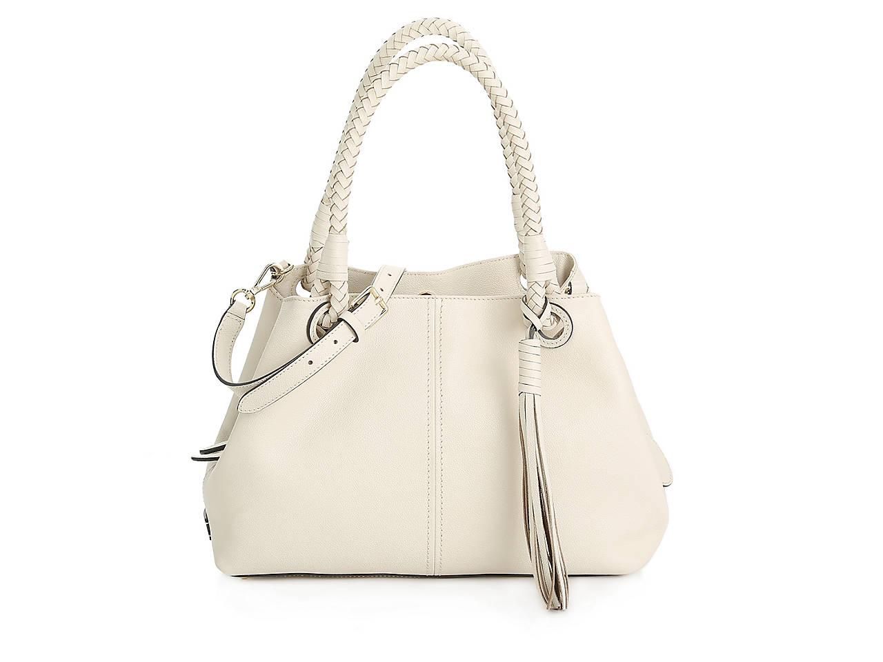 Tel Leather Shoulder Bag