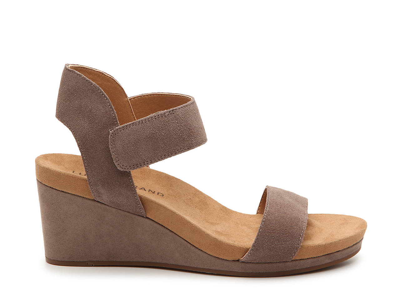 ae9eb79727f3 Lucky Brand Kamila Wedge Sandal Women s Shoes