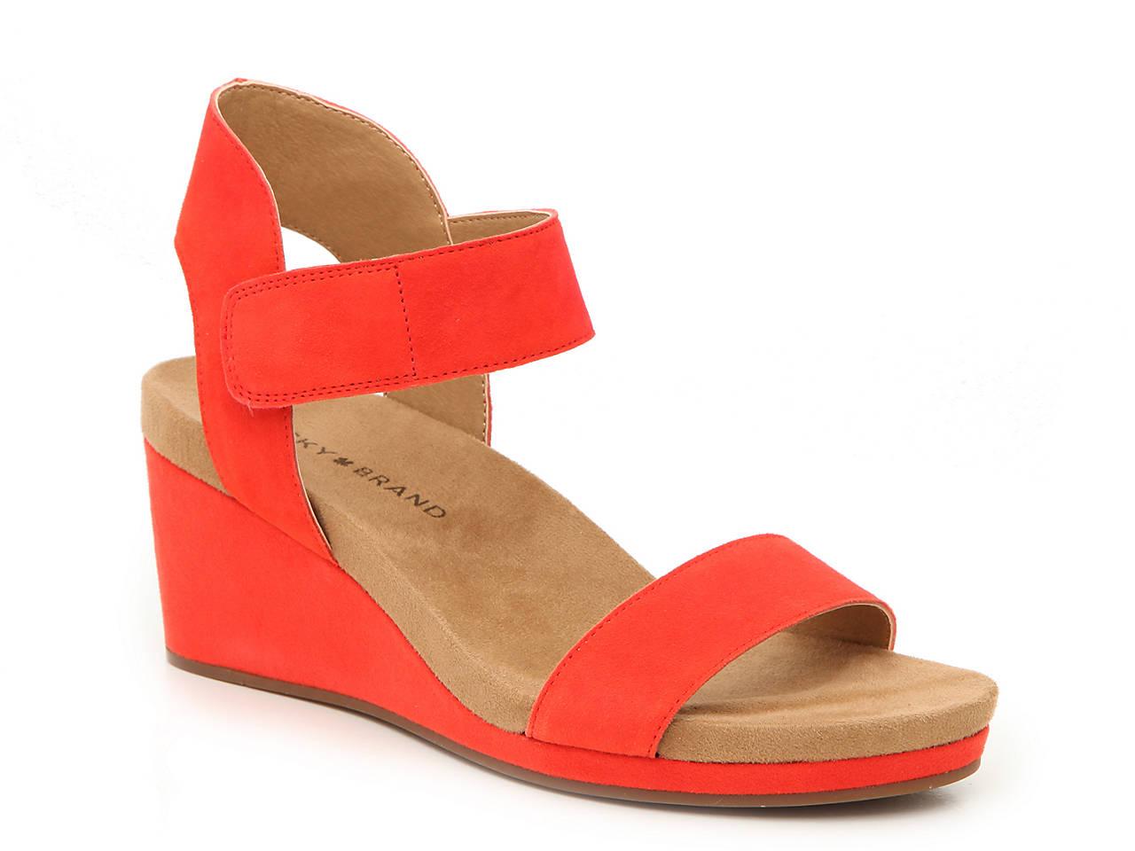 749a4c20b Lucky Brand Kamila Wedge Sandal Women's Shoes | DSW