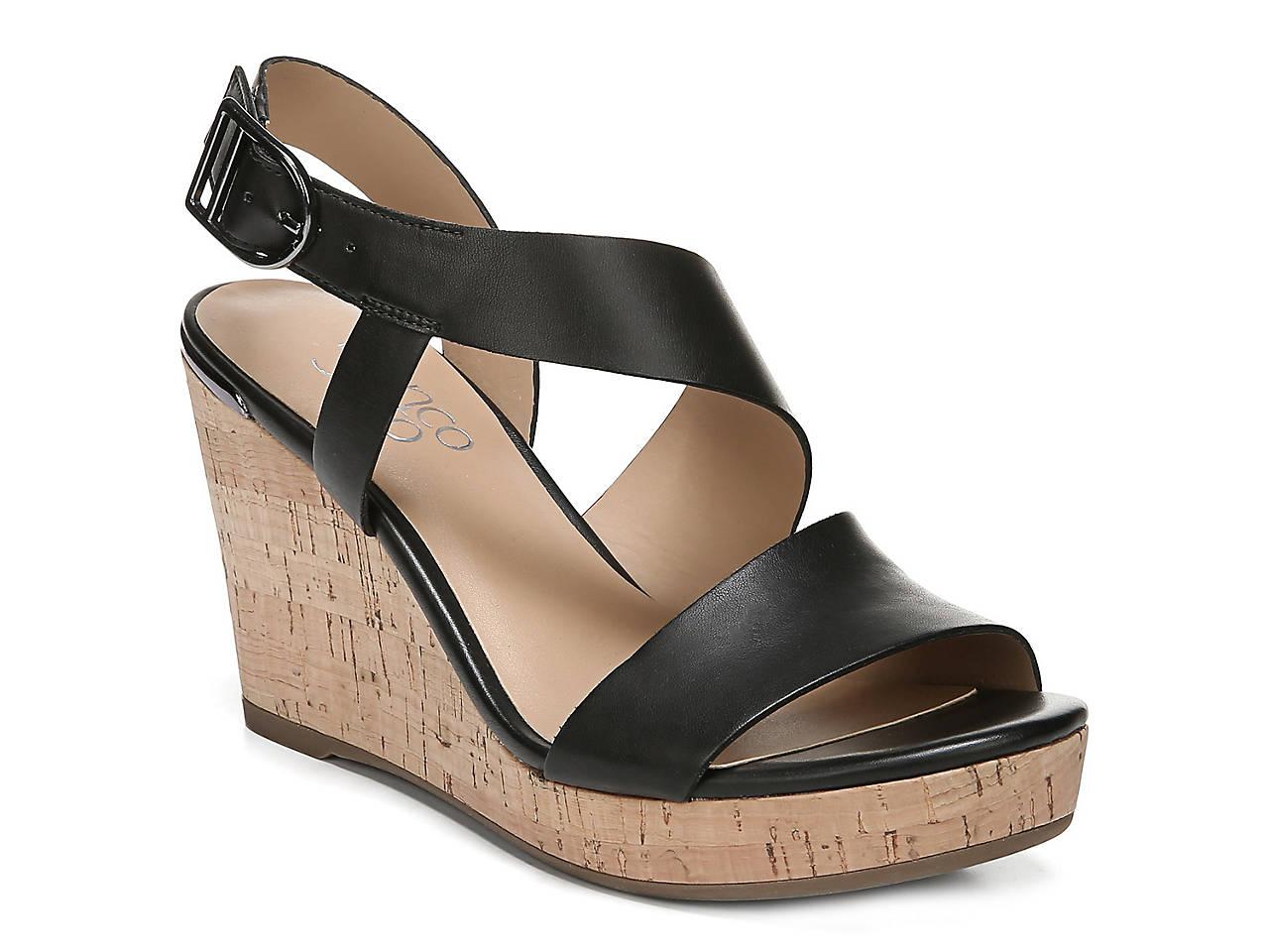 dfd9a234ada6 Franco Sarto Marabel Wedge Sandal Women's Shoes | DSW