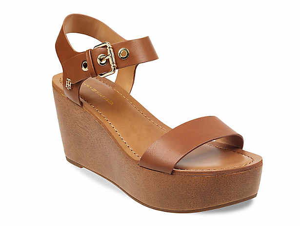 9d8a6edfb3cd Tommy Hilfiger. Witt Wedge Sandal