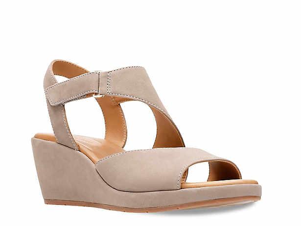 6d90640d7cd1 Clarks Un Plaza Sling Wedge Sandal Women s Shoes