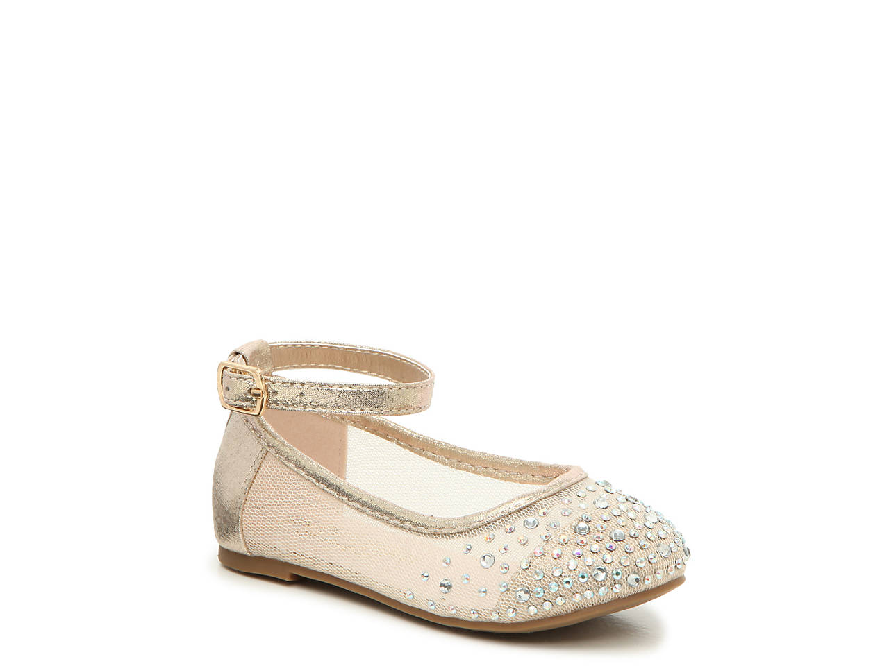 c68a2a17f1e De Blossom Harper Infant   Toddler Flat Kids Shoes