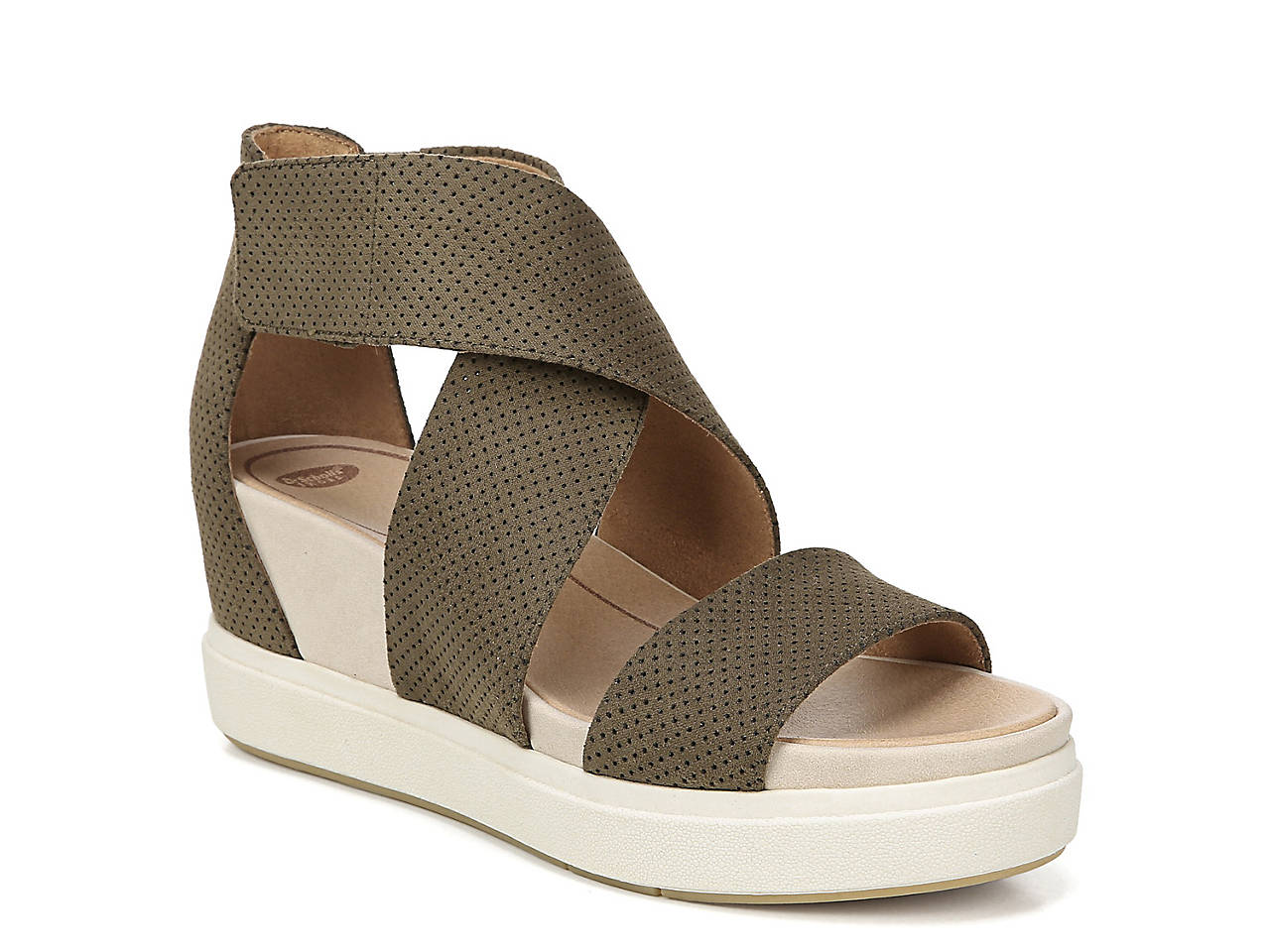 6f55a5b228ed Dr. Scholl s Scheena Wedge Sandal Women s Shoes