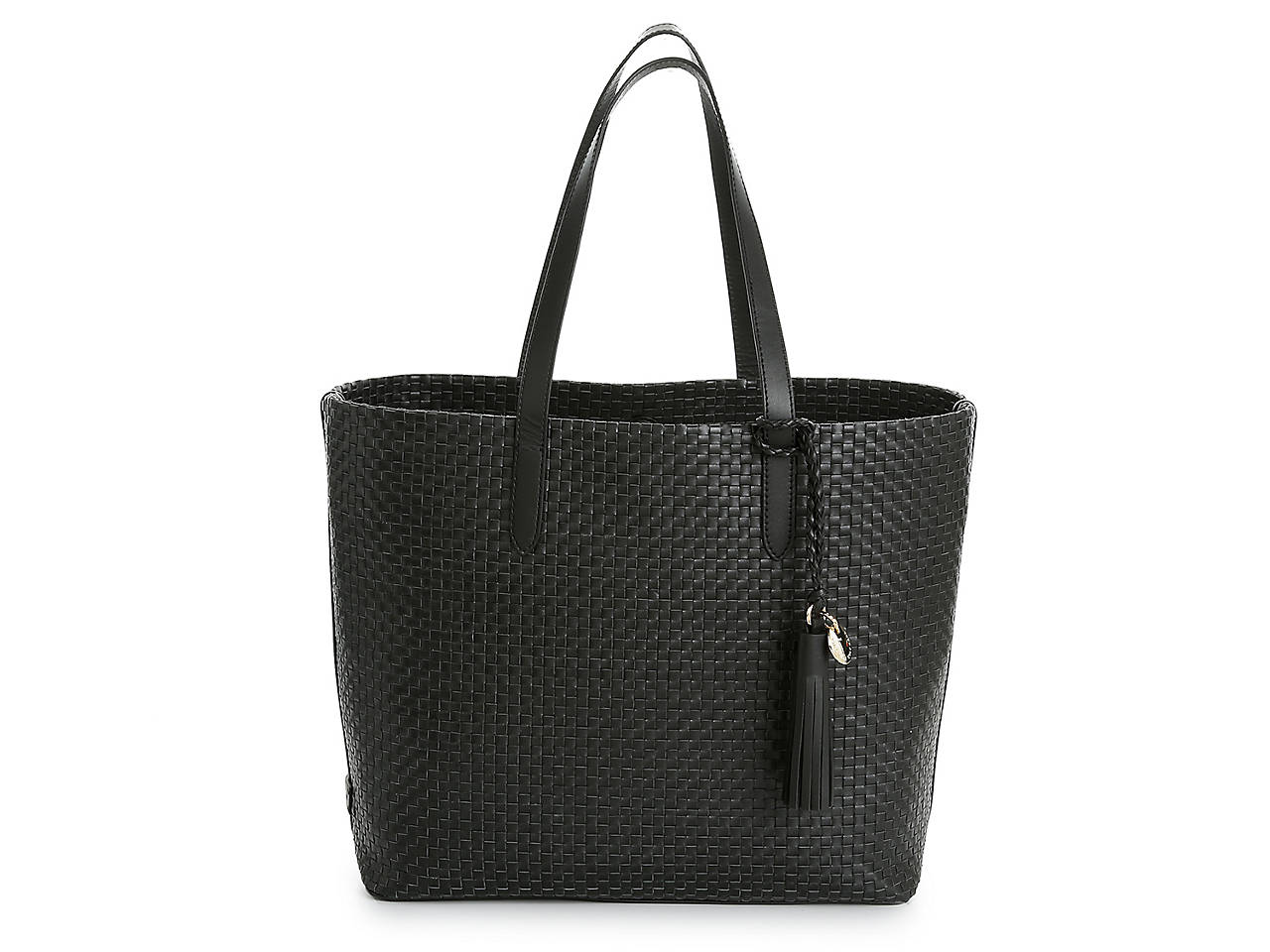 Payson Woven Leather Tote