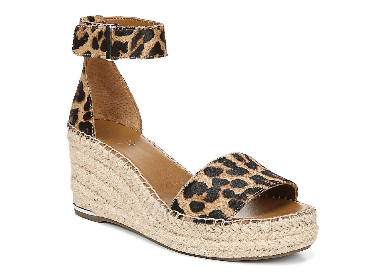 deb7f0d01a39 Franco Sarto Clemens Espadrille Wedge Sandal Women's Shoes | DSW