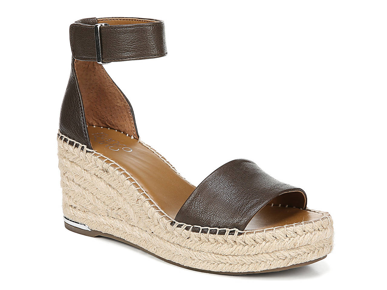 5d8b979bf72a Franco Sarto Clemens Espadrille Wedge Sandal Women s Shoes