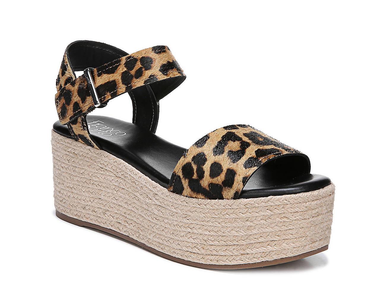 22a01753a0a Franco Sarto Ben Espadrille Platform Sandal Women s Shoes