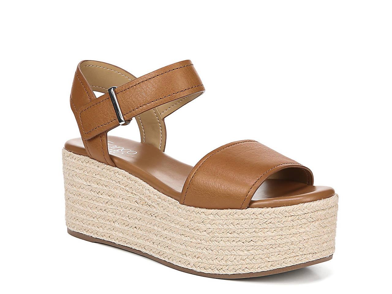 f2e1413b5ee Franco Sarto Ben Espadrille Platform Sandal Women s Shoes