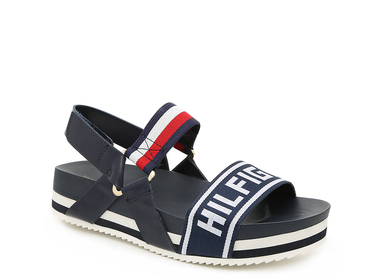 d9063d229b4 Tommy Hilfiger Bekett Platform Sandal Men s Shoes