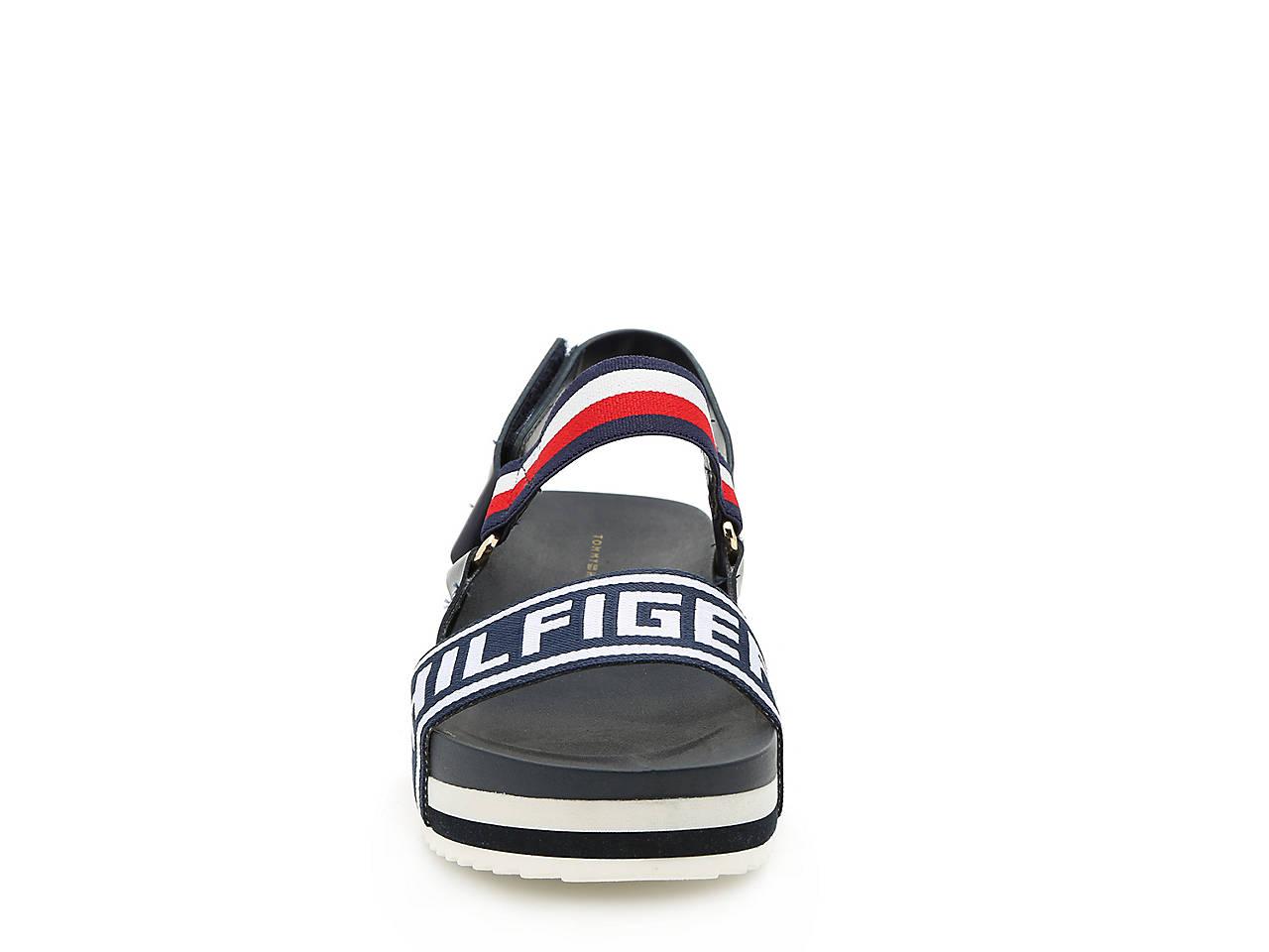9ecfa3f70 Tommy Hilfiger Bekett Platform Sandal Women s Shoes