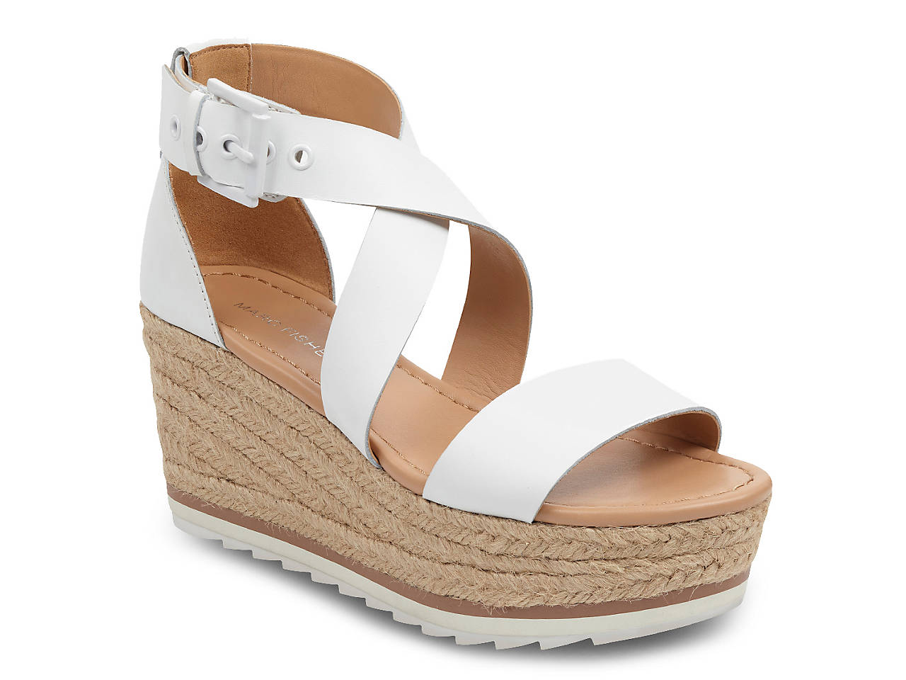 01fd0f03c8 Marc Fisher Zaide Espadrille Wedge Sandal Women's Shoes | DSW
