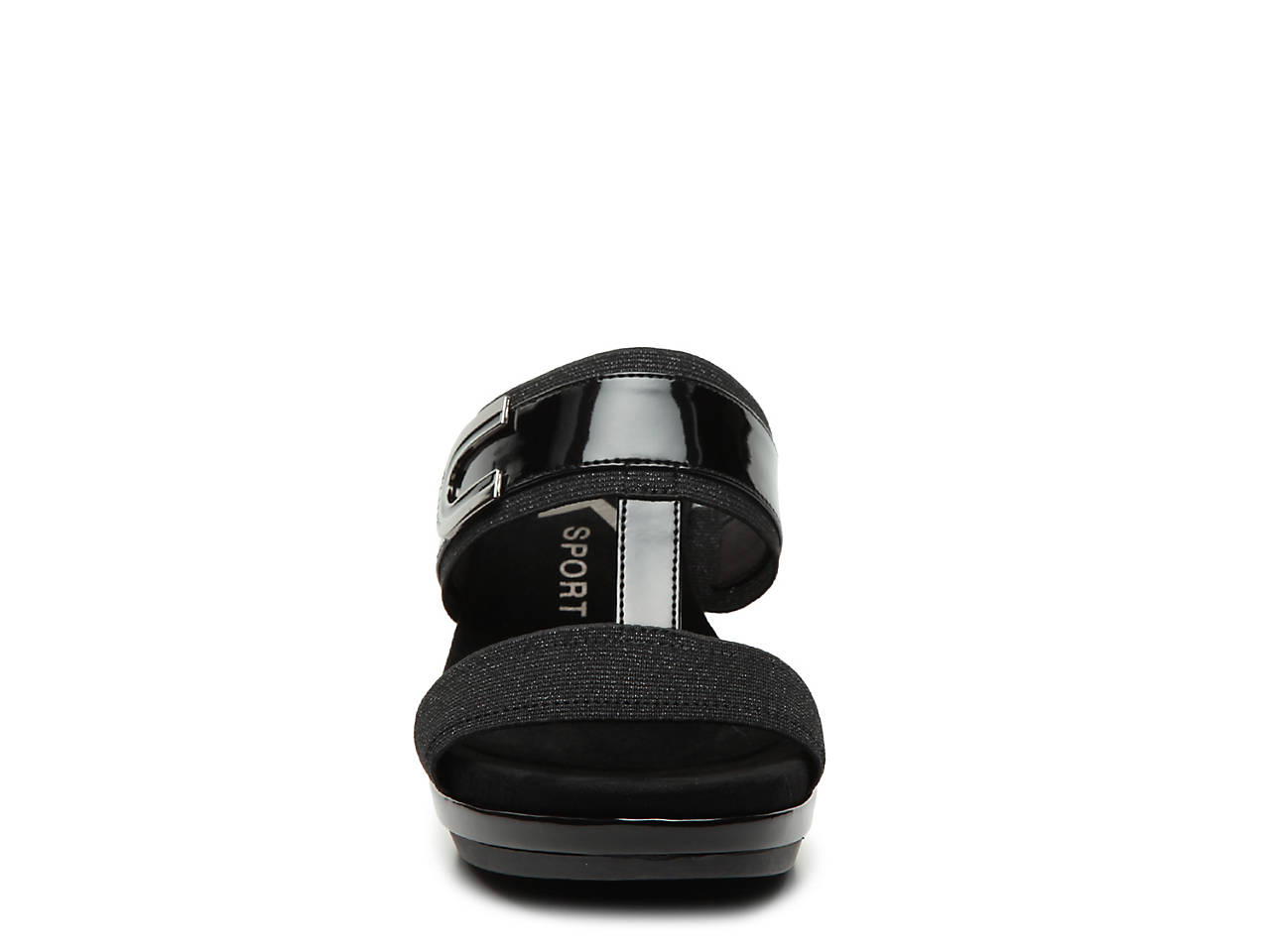 0f1fa3fbd408 Anne Klein Sport Pax Wedge Sandal Women s Shoes
