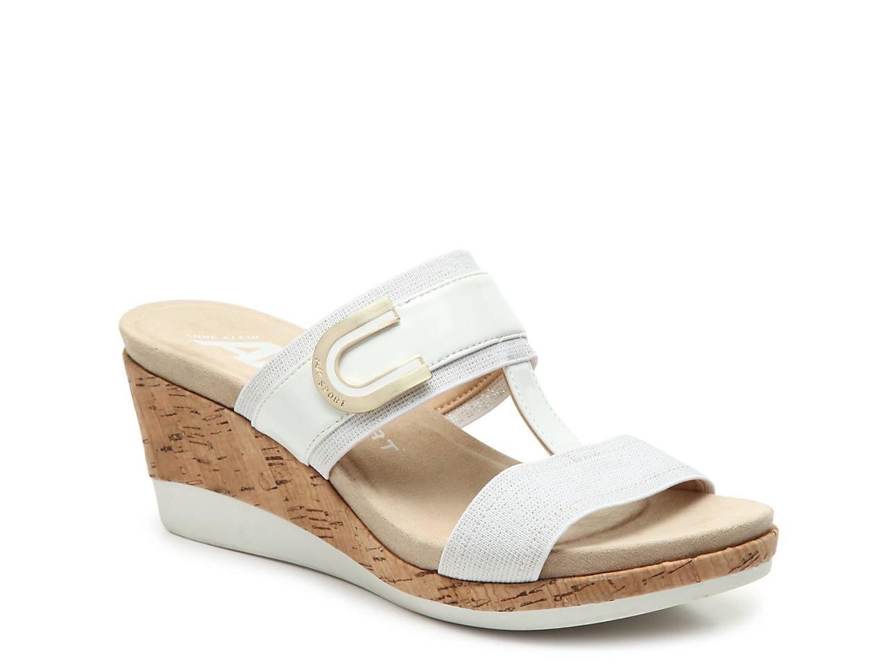 f735bd75987 Anne Klein Sport Pax Wedge Sandal Women s Shoes